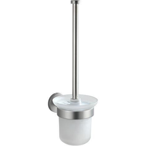 WENKO Toilettenbürste Bosio matt Toilettenbürstenhalter Toilette Klobürste WC-Ständer