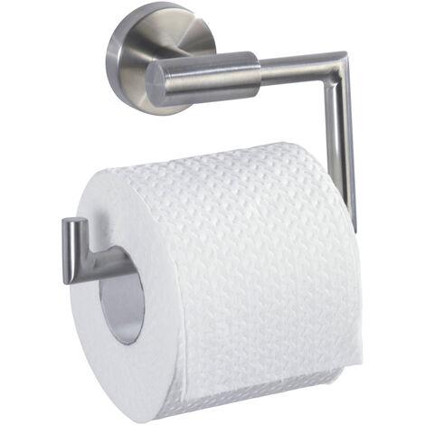 WENKO Toilettenpapierhalter ohne Deckel Bosio Ersatzrollenhalter Papierrolle