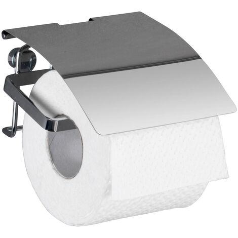 WENKO Toilettenpapierhalter Premium Ersatzrollenhalter Papierrolle Toilettenpapier