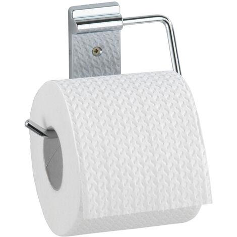WENKO Toilettenpapierrollenhalter Basic WC-Rollenhalter Badaccessoires WC-Rollenhalter