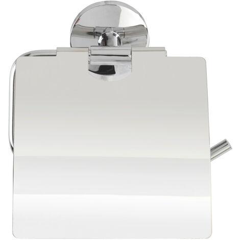 WENKO Toilettenpapierrollenhalter Cuba, mit Deckel Ersatzrollenhalter Papierrolle