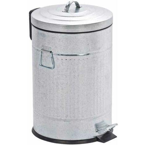 WENKO Treteimer New York Easy Close 20 Liter Abfalleimer Papierkorb Mülleimer Bad