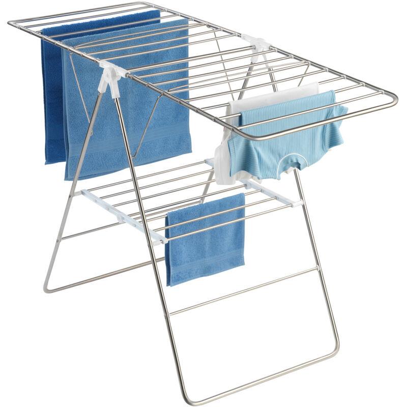WENKO Wäschetrockner Profi Single Wäsche trocknen Wäsche aufhängen Garten Balkon