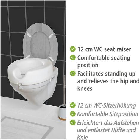 WENKO WC Sitz-Erhöhung Secura Senioren Alltagshilfen WC-Erhöhung Sitzerhöhung