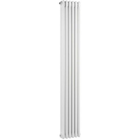 Wentworth Triple Column White 6 Panel Radiator 290mm x 1800mm