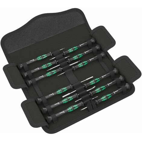 Wera 05073677001 Kraftform Micro 12 Electronics 1 Set 12pc