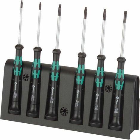 Wera 05118154001 2067/6BO Kraftform Micro Torx Security Screwdrivers, 6-Pce Set