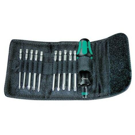 Wera 059299 Kompakt 41 Screwdriver Bit Holding Kit of 11 Pouch