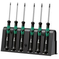 Wera 118154 Kraftform 2067 Micro Screwdriver Set Torx Tip 6 Piece Set