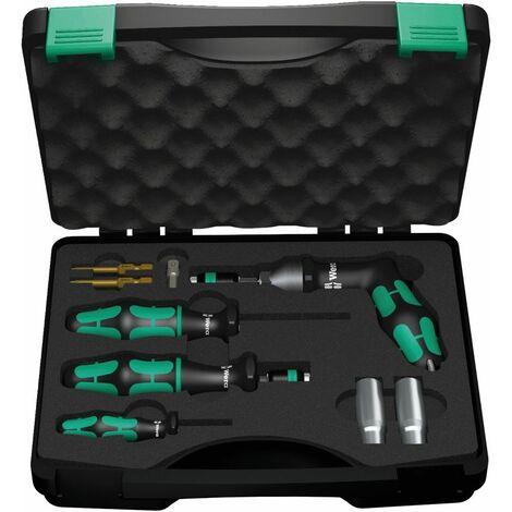 Wera 7443/61/9 Set d'installation pour systèmes de vérification de pression des pneus, 9 pièces - 05074745001