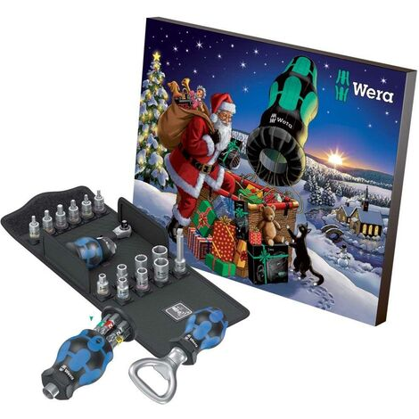 Wera Advent Calendar 2020 Socket Bit Set