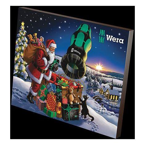 Wera Calendrier de l avent 2020 Cadeau pour le Noel 24 pieces
