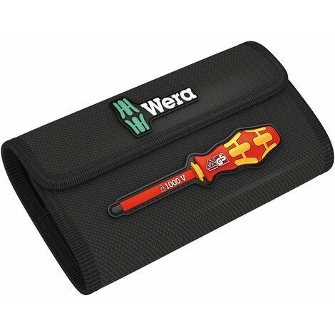 Wera Falttasche für bis zu 18-teilige Kraftform Kompakt VDE Sätze, leer, 180 x 110 mm - 05671388001