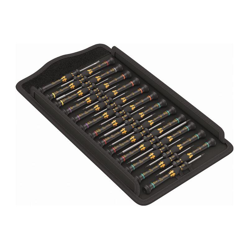 Wera Werkzeuge Wera Kraftform Micro ESD Big Pack 1 Elektroniker-Schraubendrehersatz 05134019001