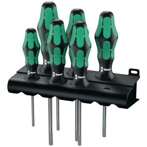 Wera Schraubendrehersatz Schraubendrehersatz 367/6 TORX HF 6-teilig TORX® 2-Komponentengriff Rundklinge