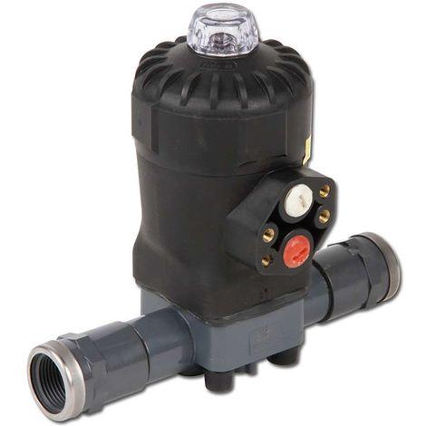 "Werkstoff Membrane: EPDM, Ausführung: Innengewinde, Anschluss Membranventil: Rp 3/4"", DN: 20, Anschluss Steuerluft: G 1/4"""
