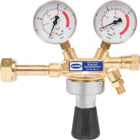 WerkzeugHERO Flaschendruckminderer Sauerstoff 0-10,0bar