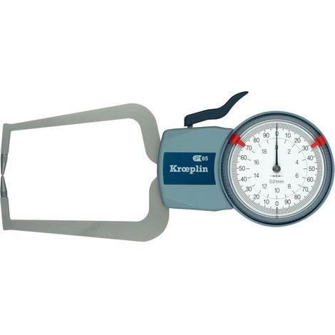 WerkzeugHERO Kröplin Außenschnelltaster Oditest 0-20mm MKL22 0
