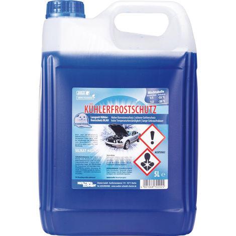 WerkzeugHERO Kühlerfrostschutz blau 5 Liter ( Inh.3 Stück )