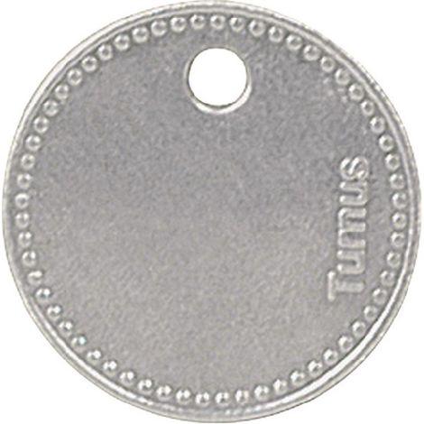 Werkzeugmarken Alu.D27,5mm m.Perlrand