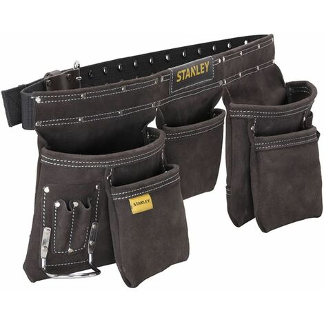 Werkzeugschürze aus echtem Leder mit praktische Anordnung und großem Stauraum