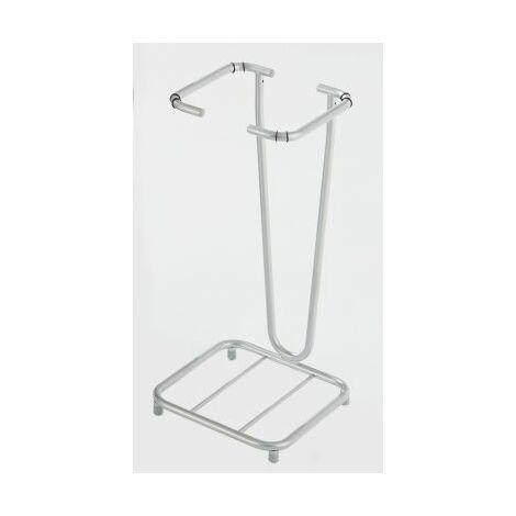 Wertstoff-Müllsackständer ohne Deckel - für 1 x 70-Liter-Sack, Standgestell