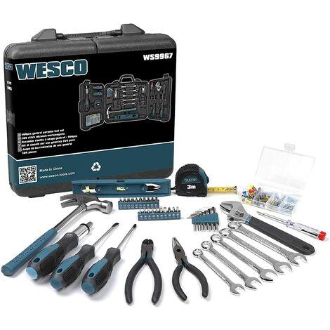 """main image of """"WESCO Boite de rangement outils 144 Pièces de Réparation/WS9967"""""""