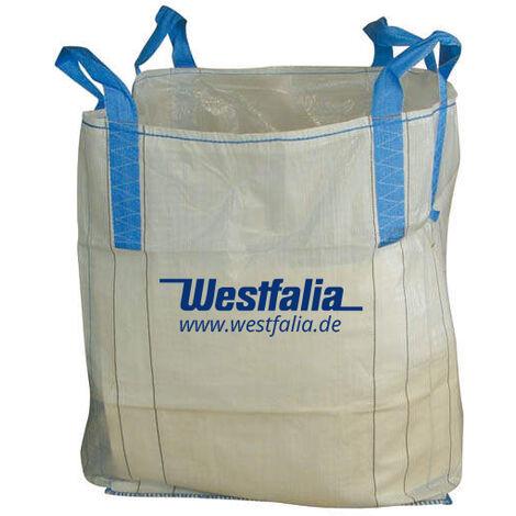 Westfalia Big Bag ohne Schürze, mit geschlossenen Boden, 1500 kg, 90 x 90 x 90 cm
