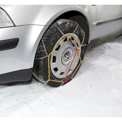 Westfalia Chaînes à neige KN50 - 2 pièces
