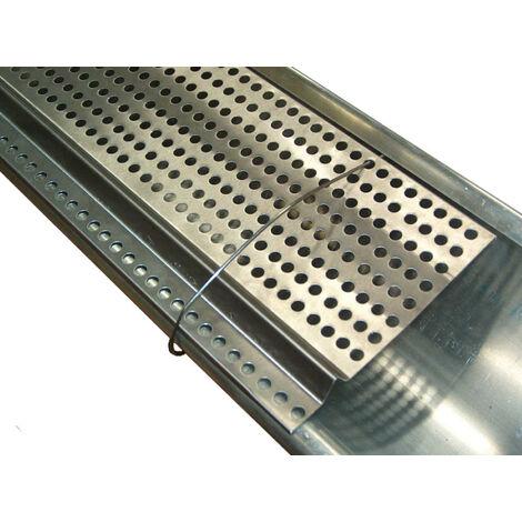 Westfalia Clips de fixation pour grilles de gouttière, 12 pièces, 15 cm