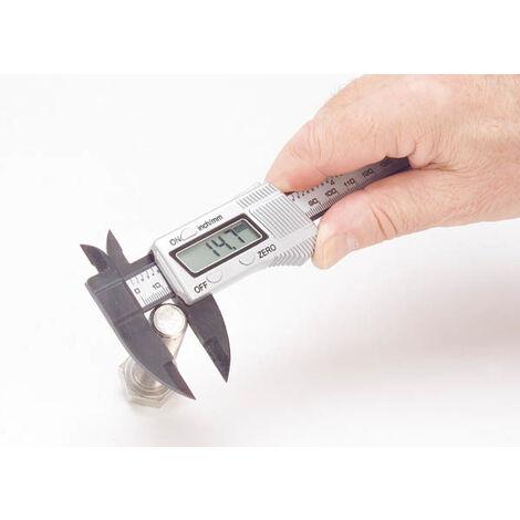 Westfalia Digital-Schieblehre 150 mm, mm und Zoll, 0,1 mm Messbereich