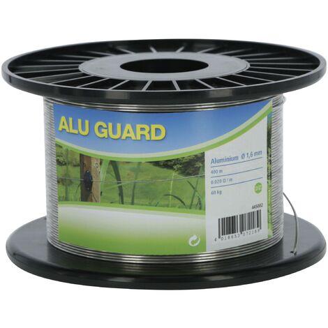 Westfalia Fil de clôture aluminium 400 m diamètre 2 mm