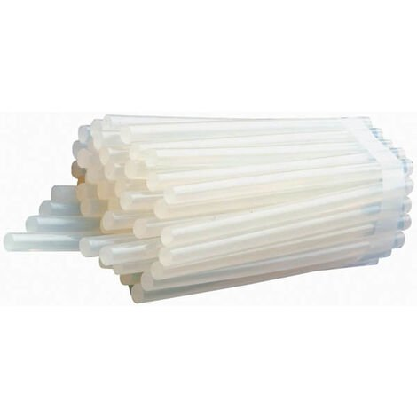 Westfalia Heißklebesticks - 50 Stück Klebepatronen 11 mm X 200 mm