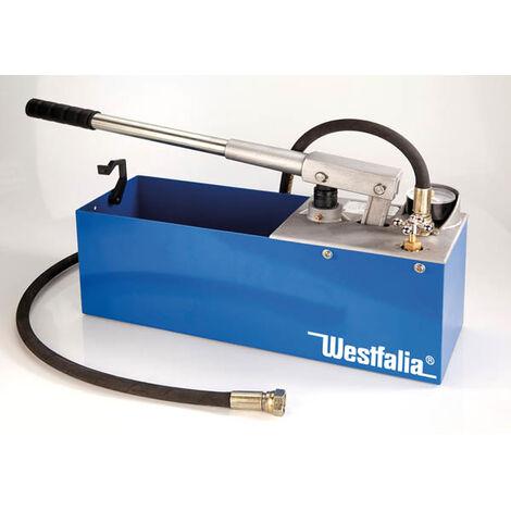 Westfalia Pompe de test et de contrôle de pression à main