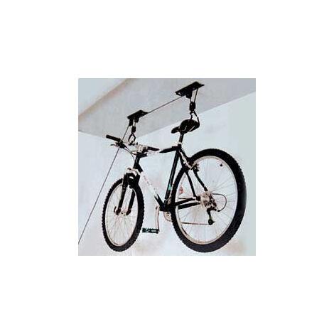Westfalia Porte-vélo élevateur pour montage au plafond - hauteur maximale 4m - poids de levage maximum 20kg