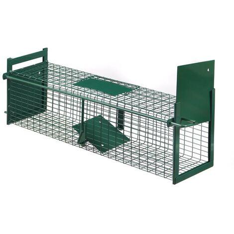 Westfalia Ratten Lebendfalle mit 2 Eingängen - robuste Ausführung