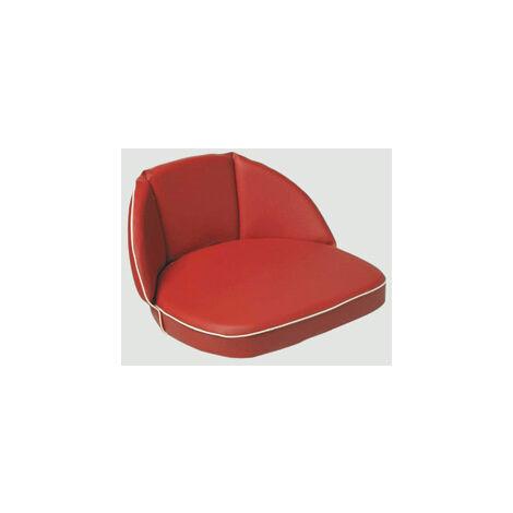Westfalia Schlepper- und Traktoren Sitzkissen, 30 cm Rücken, Riemen, rot