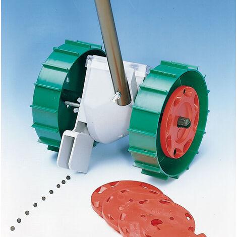 """Westfalia Semoir """"Super Seeder"""" avec 6 disques de semis pour légumes - Profondeur réglable - 3 distances de semis différentes"""
