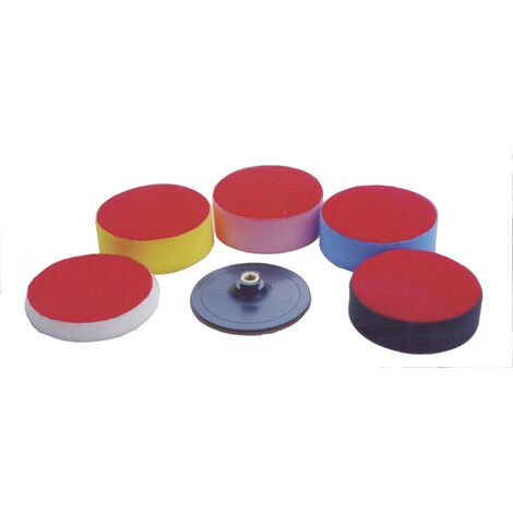 Westfalia Set d'éponges à polir pour carrosserie - 150 mm