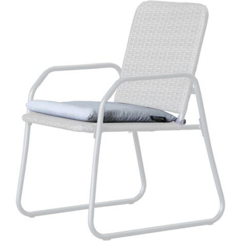 Westfield Barite Sitzkissen, Kissen, weiß - 10300421001000