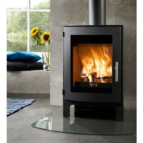 Westfire Uniq 17 Contemporary DEFRA Approved Wood Burning Stove