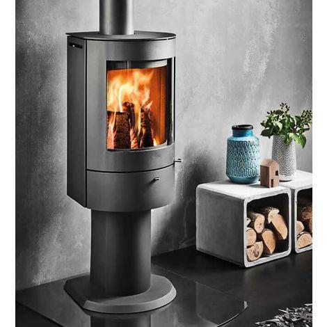 Westfire Uniq 21 DEFRA Approved Wood Burning Pedestal Stove