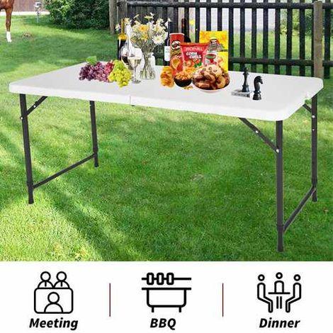 WestWood 4 FT Plastic Folding Table