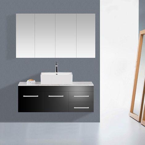 WestWood Bathroom Cabinet BC03 White