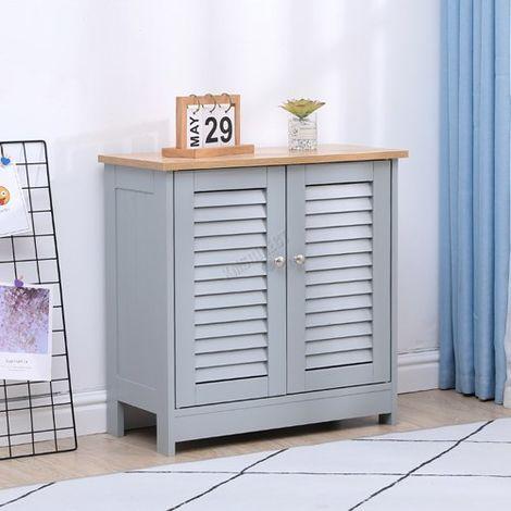 WestWood Bathroom Furniture Range 03 - Storage Cabinet Grey