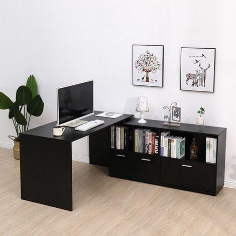 WestWood Computer Desk CD02 Black