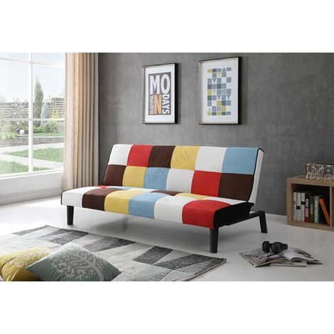 WestWood Fabric Rainbow Sofa Bed FSB09