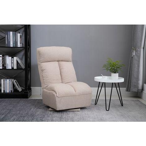 WestWood Fabric Recliner Chair WW-9100 Cream