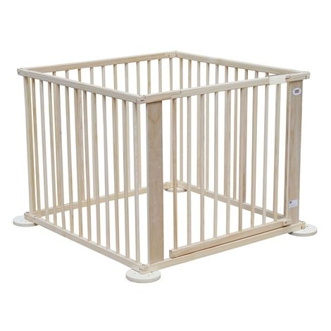 WestWood Foldable Wooden Baby Playpen 4 Side