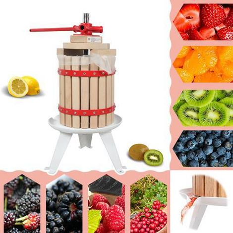 WestWood Fruit Press Tool 12 Litre Red
